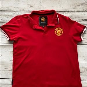 Manchester United golf shirt